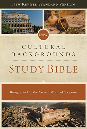 NRSV, Cultural Backgrounds Study Bible, eBook: Bringing to Life the Ancient World of Scripture (English Edition)