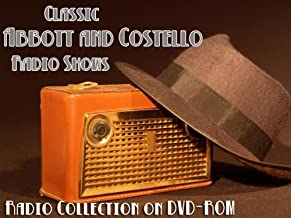 283 Classic Comedians Abbott and Costello Old Time Radio Broadcasts on DVD (over 105 hours 25 minutes running time)