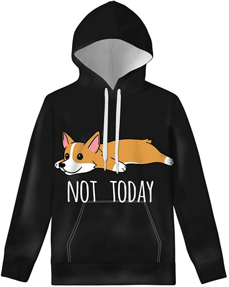 WELLFLYHOM Hoodies Pullover for Kids Teen Girls Boys Top Sweatshirt with Pocket