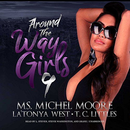 Around the Way Girls 9 audiobook cover art