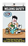 Posterkart Eye Safety Poster - Welding Safety, 66 cm x 36 cm x