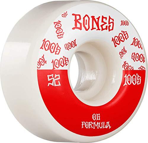 Bones™ 100's • #13 • 52mm • White • Wide