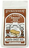 Sturdiwheat Limpa Sweet Rye Bread, 21-ounces (Pack of4)