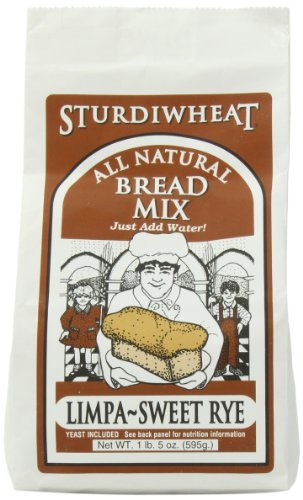 Sturdiwheat Bread Limpa Sweet Rye, 1.31 Pound (Pack of 4)