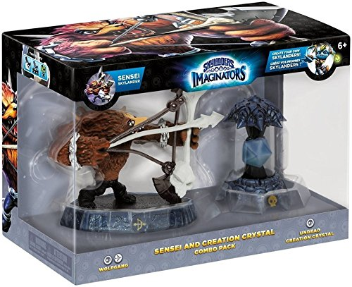 Skylanders Imaginators Sensei and Creation Kristall, Wolfgang - Undead Creation Crystal