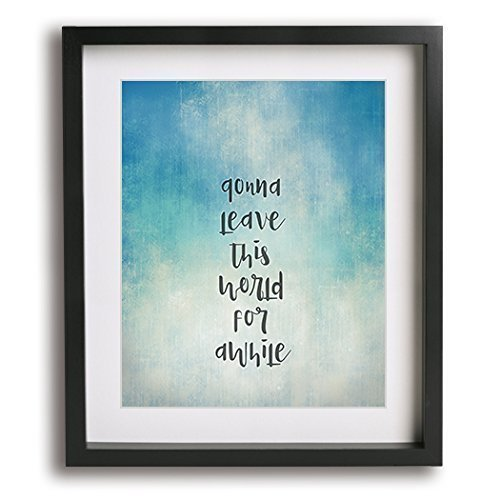 Amazon Com Free Falling By Tom Petty Inspired Song Lyric Wall Art Print Music Quote Poster Handmade
