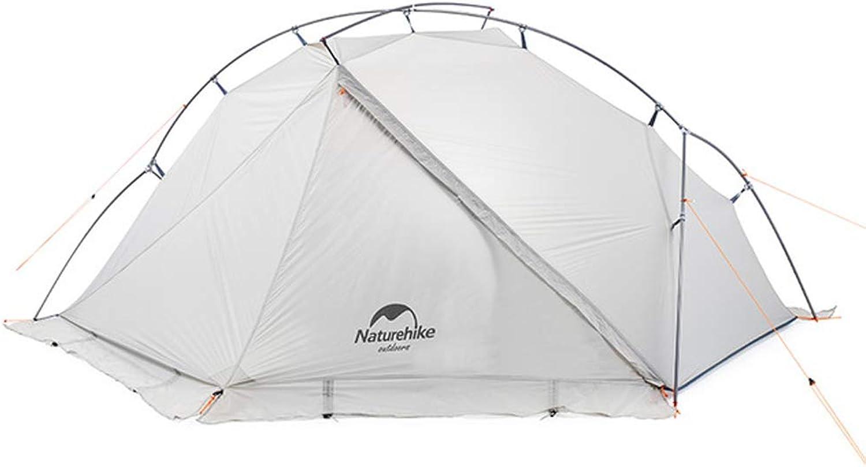 JSX Einzelne tragbare Aluminium-Campingzelt ultraleichte Wasserdichte Winddichte Winddichte Winddichte Campingzelt Bergsteigen Zelt Schneezelt B07QJ5TPK5  Stilvoll und charmant 2a0c62