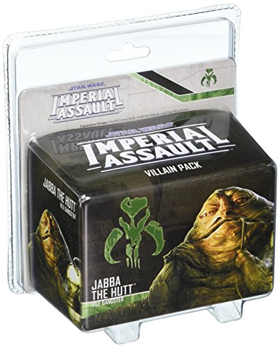 Fantasy Flight Games FFGSWI36 Jabba The Hutt Bösewicht Pack: Star Wars Imperial Assault, Mehrfarbig