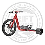 Triad Notorious 3 Drift Trike (rojo)