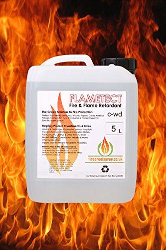 Flametect 5L C-WD Flame Retardant For Wood