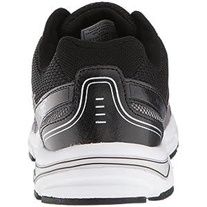 Avia Men's Avi-Execute-II Running Shoe, Black/Metallic Iron Grey/Chrome Silver, 11.5 4E US