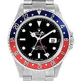 Rolex GMT Master II Automatic-self-Wind Reloj para hombre 16710 (certificado prepropietario)