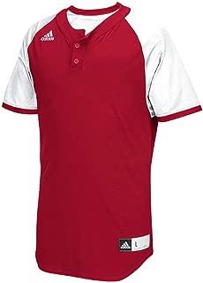 Diamond King 2.0 Mens 2-Button Henley Baseball Jersey