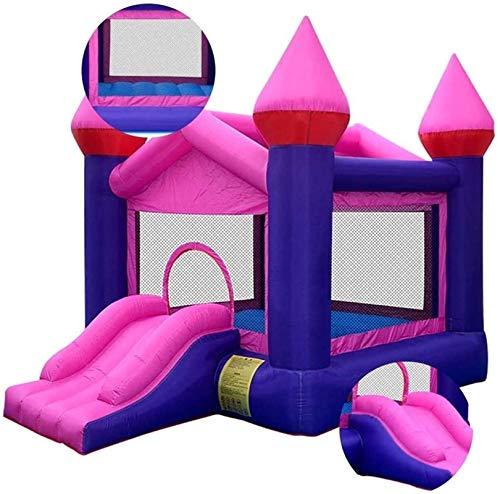 SANNA Casa de rebote para niños Inflables Castillos hinchables Infantiles Cama de salto inflable Productos para el hogar Castillo travieso Trampolín adecuado para parques piscinas (250350270cm)