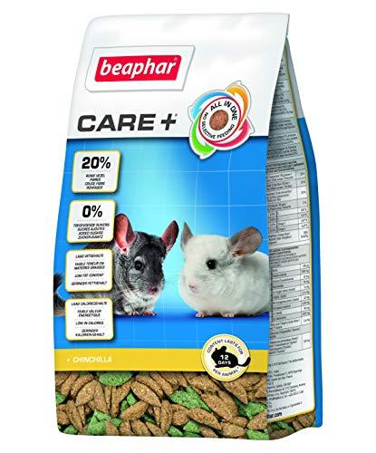 Beaphar - Care+ alimentation super premium - chinchilla - 250 g