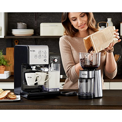 Mr. Coffee One-Touch CoffeeHouse Espresso Maker and Cappuccino Machine
