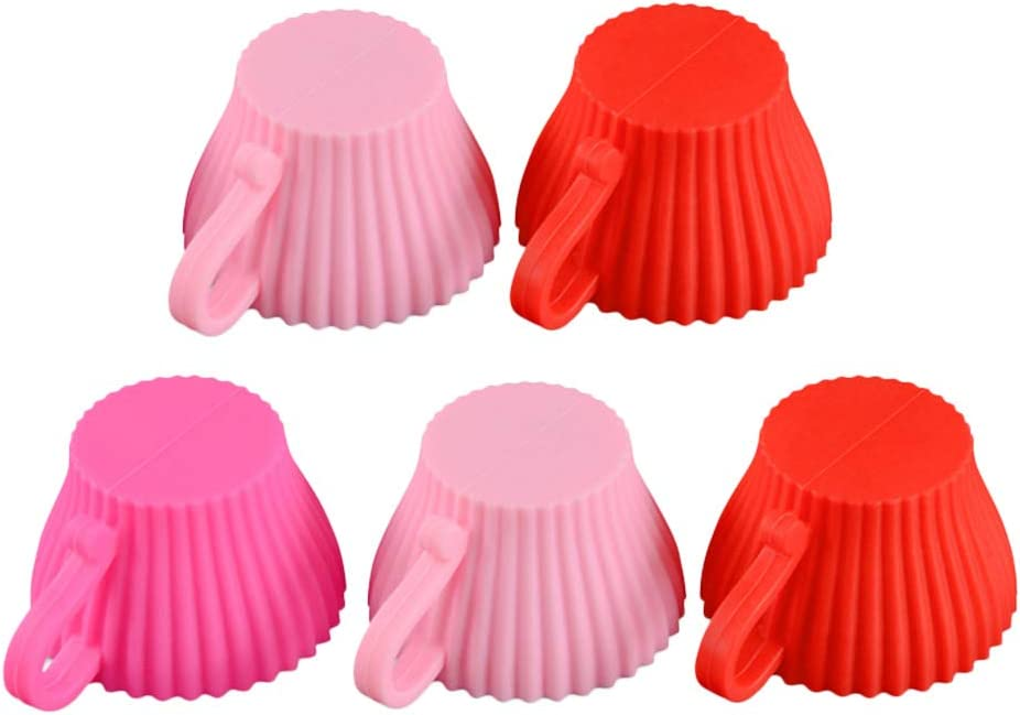 DOITOOL Outlet SALE Baking Cup Cupcake Liners Cake 5pcs Today's only Molds Muffin