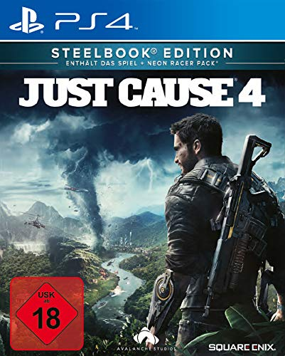 Just Cause 4 - Steelbook Edition - exkl. bei Amazon.de - [PlayStation 4]