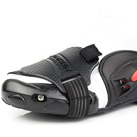 Ecoticfate Schalthebelschutz Motorrad Gangschaltung Gummi Schuhe Pad Abnutzung Protector Schalthebelschutz Motorrad Schaltkissen Überschuh Abdeckung Schutzausrüstung Auto