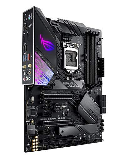 ASUS ROG STRIX Z390-E GAMING Scheda Madre Gaming Intel Z390 LGA 1151 ATX con Aura Sync, Wi-Fi, Supporto DDR4 a 4266 MHz +, Doppio M.2, SATA 6 GB/s, HDMI e USB 3.1, Nero