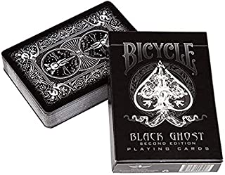 Ellusionist Bicycle Black Ghost Playing Cards - 2nd Edition Magic Tricks Magic Poker Card Magic Toy