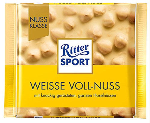 Ritter Sport - Nuss-Klasse Weiße Voll-Nuss - 100g