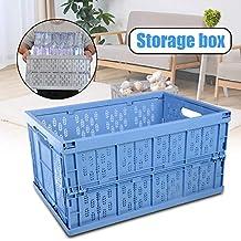 Fold Flat Crate Auto Car Foldable Storage Box Car Organizer Multi-Function Plastic Debris Storage Box Organizer