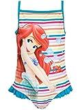 Disney Arielle Die Meerjungfrau Mädchen Arielle Badeanzug, Mehrfarbig, 110 (Herstellergröße: 4 -...