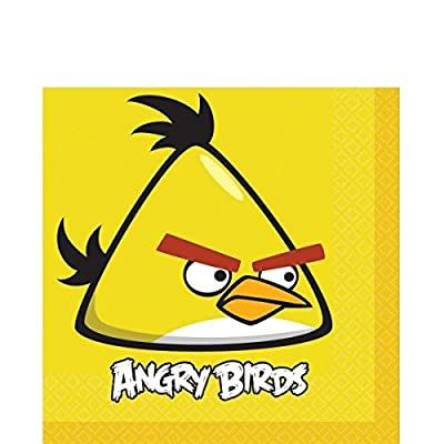 American Greetings Angry Birds Lunch Napkins, 16-Count