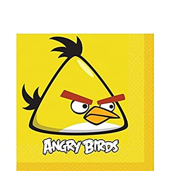 American Greetings Angry Birds Lunch Napkins 16-Count