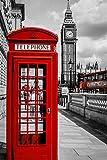 Kit Completo De Pintura De Diamante 5D_London stand bus street view Diamond Painting Kits 40x50cm_Pintura al oleo por numeros y decoración del hogar,Cuadros punto de cruz kit decoracion pared salon