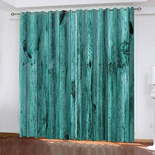 LucaSng Retrò tende oscuranti termiche isolanti Arte Astratta tende salotto oscuranti 3D motivo Tenda Oscurante finestra Termica Isolante con Occhielli 132x210 cm