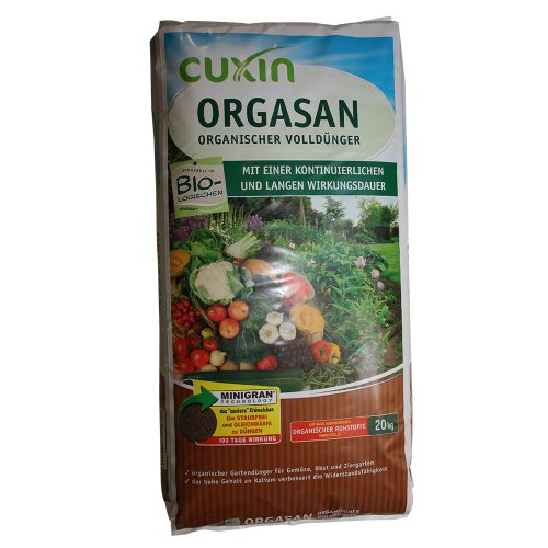 Cuxin organischer Volldünger Orgasan, 20 kg