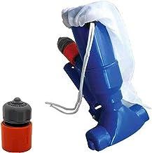 Wuhanyimang Aspirador eléctrico de piscina, cabezal de vacío de chorro, mástil telescópico, juegos para el estanque de hidromasaje piscina, limpiador de cabeza accesorios de piscina (A)