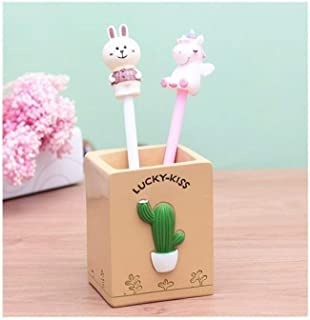 DKX Pen Holder, Pen Holder Creative Fashion, Girl Desktop Decoration, Can Be Used As A Gift, Suitable for Office, Dormitory, Study (Color : 2)