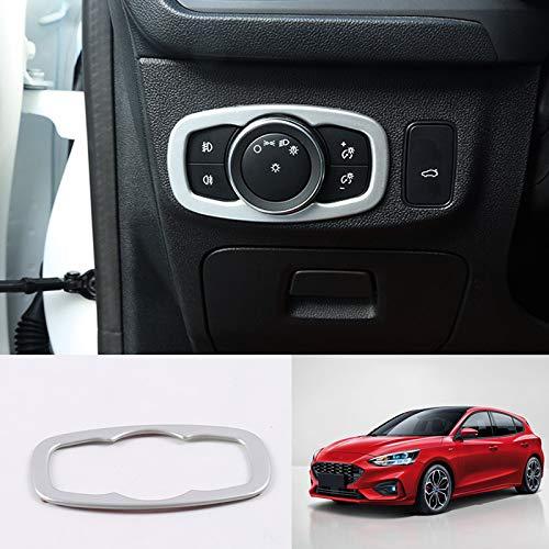 Voor Ford Focus 2019 2020, auto-stylingaccessoires 1PCS ABS plastic interieur koplamp lampafdekking bekleding trim