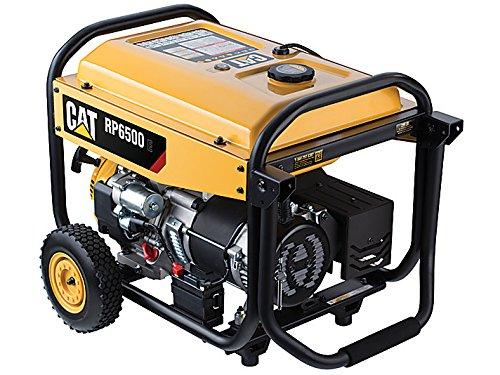 Cat RP6500 E 6500 Running Watts/8125 Starting Watts with Electric Start Gas Powered Portable Generator 502-3691