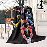 SINGKING Throw Blanket Warm Feature- Flannel Blanket for Couch or Bed 59'X79'