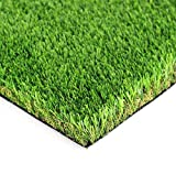 LITA Premium Artificial Grass 3' x 8' (24 Square Feet) Realistic Fake Grass Deluxe Turf Synthetic Turf Thick Lawn Pet Turf -Perfect for Indoor/Outdoor Landscape - Customized