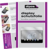 dipos I 2X Schutzfolie klar kompatibel mit Allview Viva H1002 LTE Folie Bildschirmschutzfolie