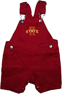 Creative Knitwear Iowa State Baby and Toddler Short Leg Overalls