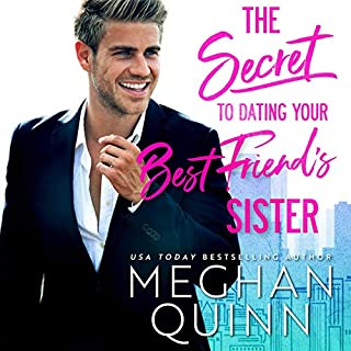 The Secret to Dating Your Best Friend's Sister audiobook cover art