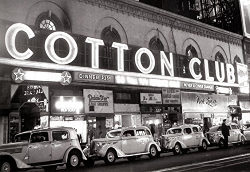 The Cotton Club Poster, Jazz, New York City