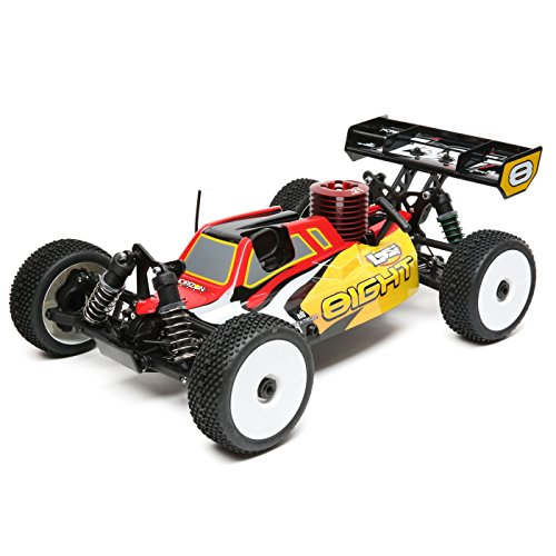 1/8 8IGHT 4WD Buggy Nitro RTR, rot/gelb