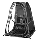 Under the Weather T48-BLK XLPod Sun Shelter, Black, X-Large