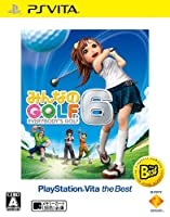 【PS Vita】みんなのGOLF 6 PlayStation Vita the Best