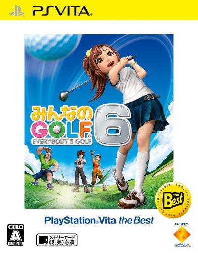 ソニー・インタラクティブエンタテインメント『みんなのGOLF 6 PlayStation Vita the Best』