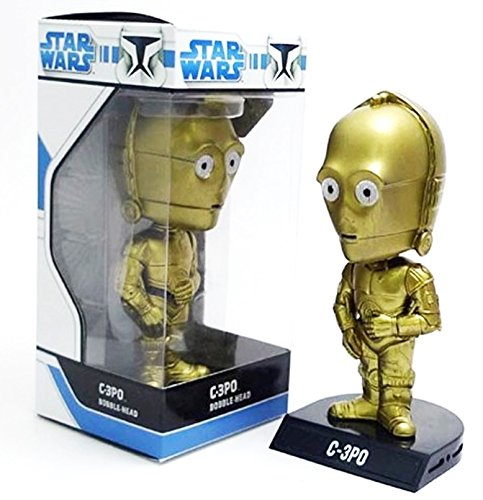 Wacky Wobbler Star Wars C-3PO Cabezon PVC APPR 16cm Funko