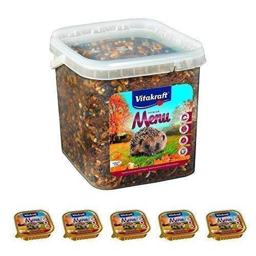 Vitakraft Nourriture Hérisson 2,5 kg + 5X 100 G Nourriture Humide