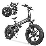 Mankeel La bici elettrica pieghevole 36V 500W, 500W Super Power è adatta per neve, montagna, sabbia